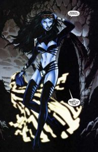 Shadow Lass, de la Legión de Superheroes
